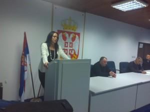 Елвира Јовановић, председница ОФС Бор